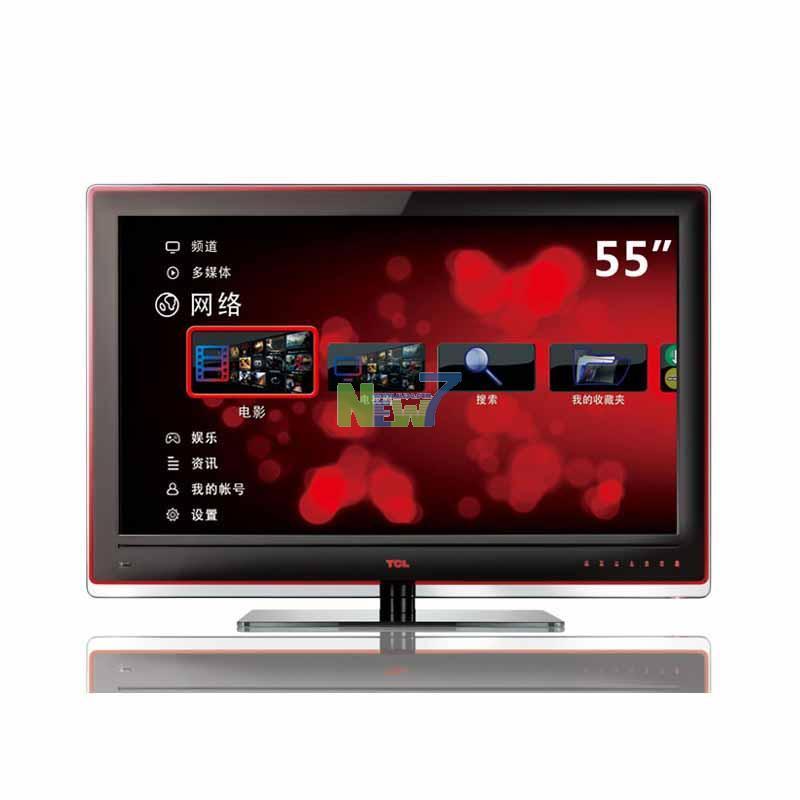tcl (tcl) 55寸液晶电视 l55p11fbde 黑色